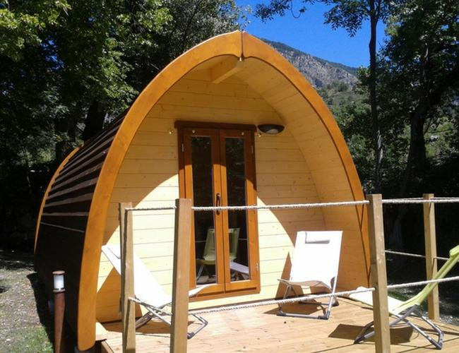Enjoy our cabins near Verdon